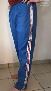Détails sur Pantalon Adidas equipe De france 1970 K Way