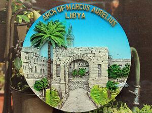 Libyen-Arch-of-Marcus-Aurelius-Reise-Souvenir-3D-Polyresin-Kuehlschrankmagnet