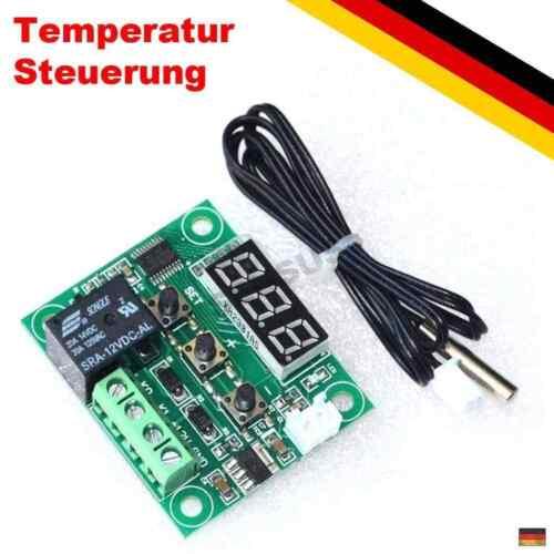 Relé ventiladores temperatura-control acuario PC 12v termostato regulador de temperatura