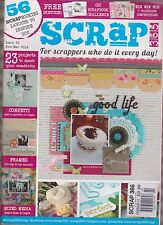 Scrap 365 Magazine For Scrappers Who Do It Every Day! FEB/MAR 2014.