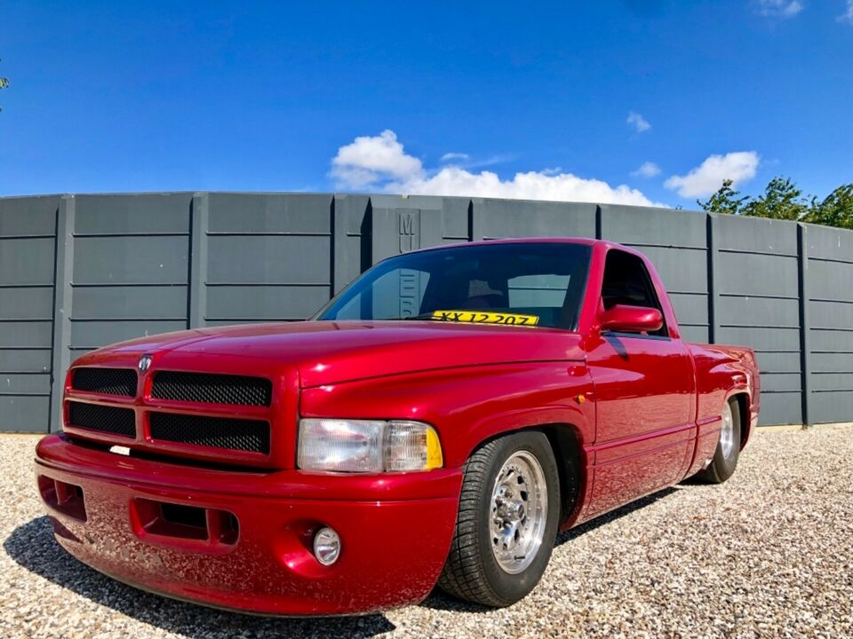 Dodge RAM 1500 5,2 Quad Cab aut. Benzin aut. Automatgear