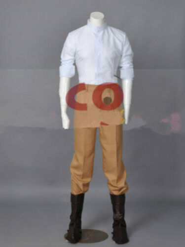 Hot! Anime Tangled Flynn Rider Cosplay Costume custome No shoe FF.91