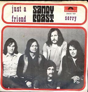 7inch-SANDY-COAST-just-a-friend-BELGIUM-EX