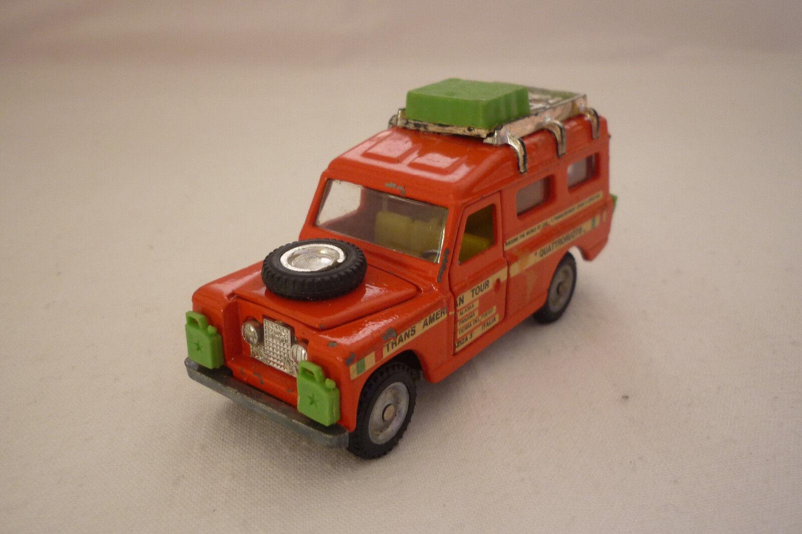 MEBETOYS-Vintage Metal Model-Land Rover - 1 43 - (mebet 2)
