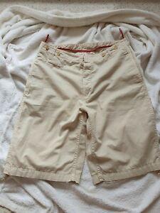 c3d7daf6189f Mens PRADA MILANO Bermuda cotton 3/4 length shorts W32