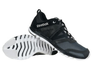 dac89ac252d6 Men s Reebok Sublite Duo LX Running Shoes Trainers Black