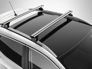nissan qashqai 2014 roof rail cross bars load carrier new genuine ke7324e510 ebay. Black Bedroom Furniture Sets. Home Design Ideas