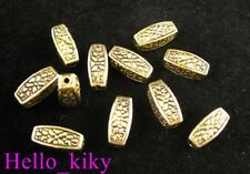 60Pcs  Antiqued gold plt crafted nugget spacer bead A162