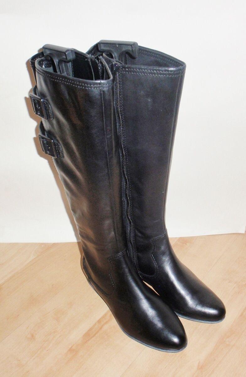 NEU Clarks Damenss LUCAS DAWSON Leder knee length pirate boots Größe 5