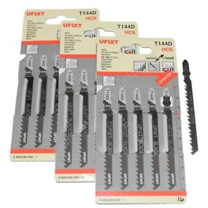 Jigsaw-Lame-T144D-per-l-039-alta-velocita-legno-taglio-HCS-15-Pack-si-adatta-Metabo