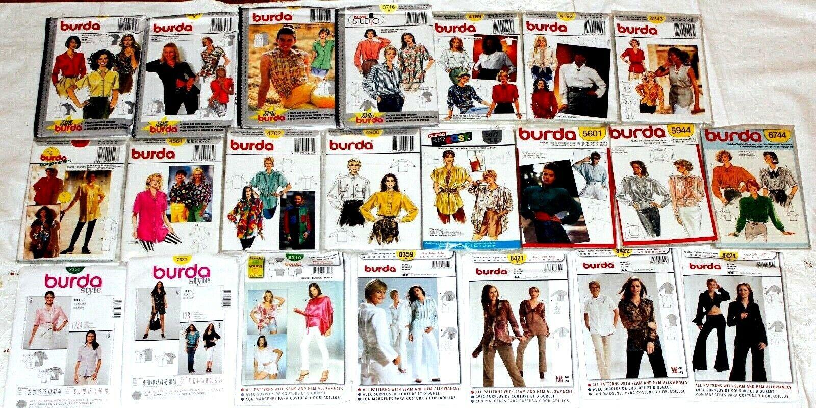 Burda Sew Pattern 7849 Misses Jacket Skirt Vests Sz 8 20 Uc Ff For Sale Online Ebay 6 / 17 / 20. ebay