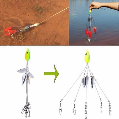 5 Arm Alabama Umbrella Rig  Fishing Lures Bass Bait Kit Random hot sell