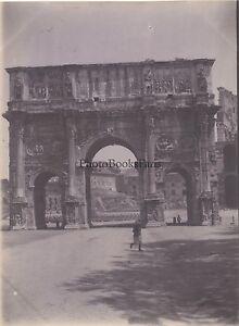 Roma Italia Vintage Citrato snapshot Ca 1900