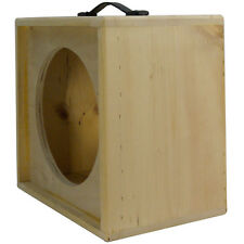 1x12 solid Pine, Raw wood Extension Guitar speaker Empty cabinet G1X12ST RW