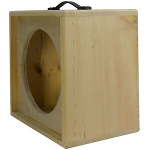 1x12 solid pine raw wood extension guitar speaker empty cabinet g1x12st rw ebay. Black Bedroom Furniture Sets. Home Design Ideas