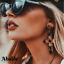 Pendientes-Joya-Mujer-Cruz-Colgante-Estilo-Barroco-Oro-Moda-Regalo-ideal-Amistad miniatura 9
