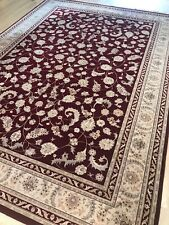 Beautiful Karastan Rug %100 wool Agra 8