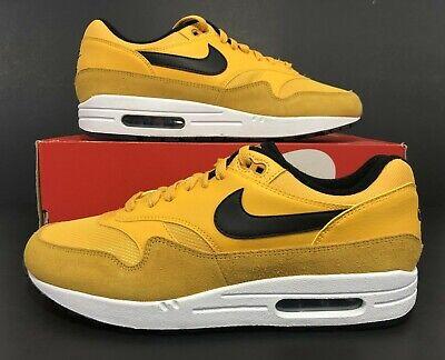 promo code 1a339 411f6 Nike Air Max 1 Premium University Gold White Black BV1254-700 Men s Size  10.5