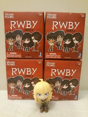 RWBY Jazwares Series 3 Vinyl Blind Box Mystery Mini Figure Yang Xiao Long