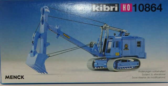 Kibri H0 11284 Menck Bagger M 154 LC m Tieflöffel NEU//OVP