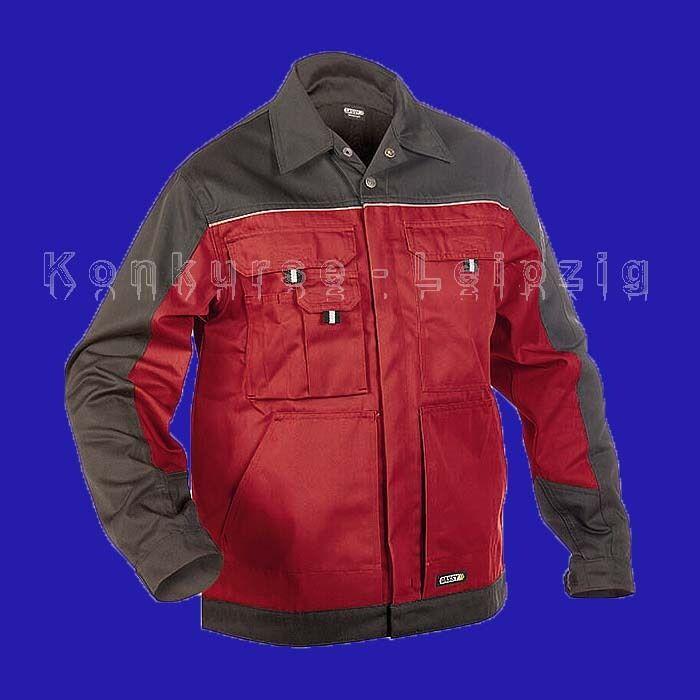 Adaptable Dassy ® Travail Veste Lugano 300183 Rouge/gris Taille Xxl Neuf Rendre Les Choses Commodes Pour Le Peuple