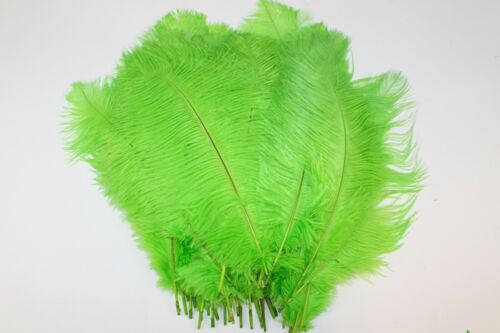 10pcs Ostrich Feathers  Wedding Party Table Decoration DIY crafts