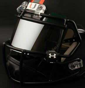 MIAMI-HURRICANES-Football-Helmet-FRONT-TEAM-NAMEPLATE-Decal-Sticker