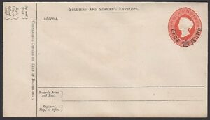 INDIA-1879-Soldiers-Envelope-H-amp-G-I2-Mint