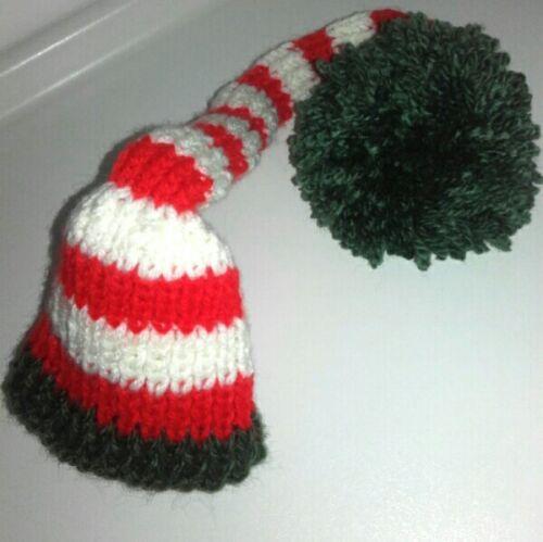 2 di 3 Cappello berretto bon bon per servizio fotografico neonato 0-1 mese  crochet 2d2d83a7a98d