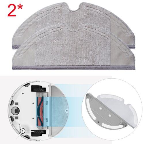 2* Original Roborock S50 Moping Cloths Dry//Wet Pads für Xiaomi Robot Staubsauger