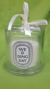 Glass Jar//Lid Garden Hideaway Bell Candle Aromatic with Pure Natural Extracts