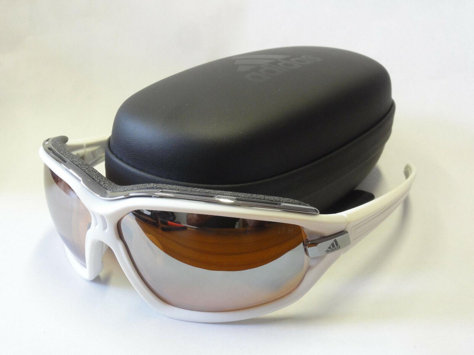 Adidas Sport Glasses EVIL EYE Pro S a194 6061 Matt Weiß New mit Pouch