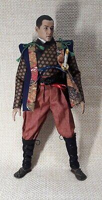 #44 scale is 1//6 clothes jinbaori for a 12 inch samurai figure.