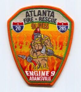 Atlanta-Fire-Rescue-Department-Engine-9-Patch-Georgia-GA