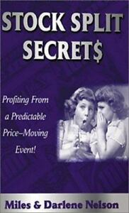 Stock Split Secrets Profiting From A Powerful Predictable Price Moving 9781892008510 Ebay