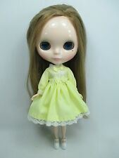 Blythe Outfit Handcrafted long sleeve dress basaak doll # 790-20