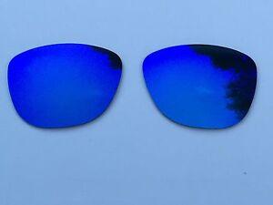 Polarizado-Azul-Azul-Espejo-Lentes-de-reemplazo-Oakley-Frogskins