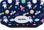Dinosaurs Personalised Rockets outer space pencil case Christmas Xmas Gift