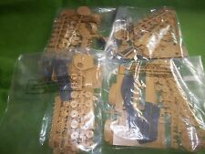 4 BAGGED  AIRFIX 1/76 SCALE TIGER 1 TANKS