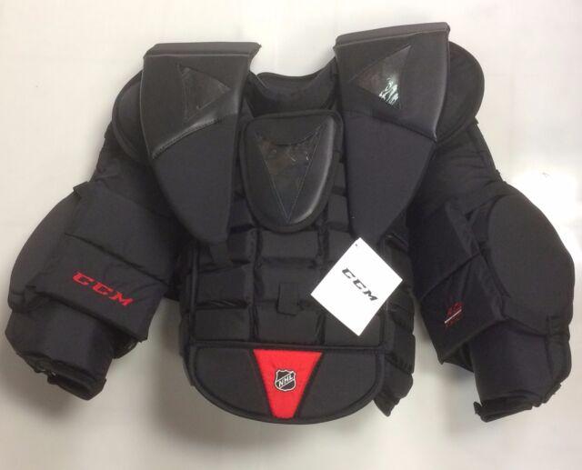 0f0496880ee New CCM AB Pro Stock chest arm protector size Sr large senior ice hockey  goalie