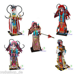 Chine Pékin Opéra Poupée soie poupée dekopuppe