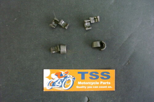 68-0158 BSA A65 A50 VALVE SPRING KEEPER COLLETS NOS SET OF 8