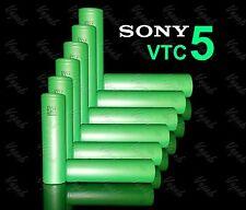 12 SONY VTC5 US18650 2600mAh High Drain Li-ion Flat Top Rechargeable Battery