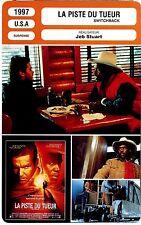 Fiche Cinéma. Movie Card. La piste du tueur / Switchback (USA) Jeb Stuart 1997