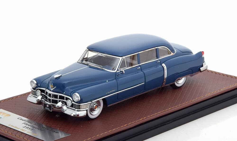 ILLAC SEVENTY FIVE FLEETWOOD 1951 BLEU GLM 121502 1 43 RESINE RESIN bleu BLEU