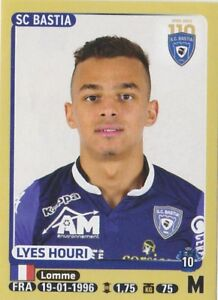 PANINI-FOOTBALL-2015-SC-BASTIA-LYES-HOURI