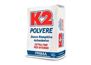 K2 Stucco Pronto In Polvere Per Muri E Legno 1 Kg Bianco Ebay