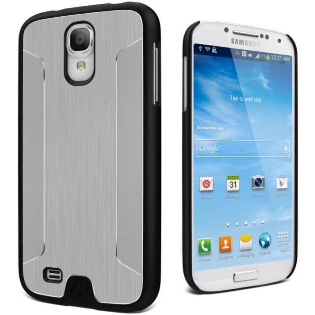 Cygnett UrbanShield Brushed Aluminium Case Samsung Galaxy  S4 ,GT-i9500 - Silver