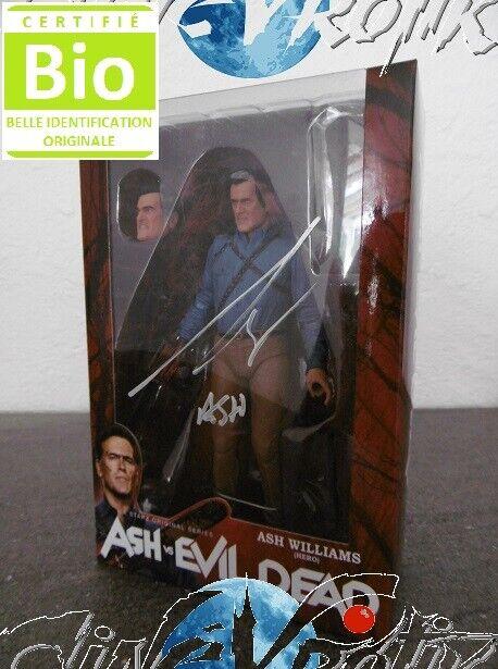 Ash  VS Evil Dead figurine signée par Bruce Campbell signed cifra estrellaz Neca  molte sorprese