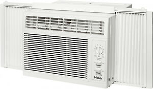 Haier-Air-Conditioner-Unit-5-000-BTU-Window-Mount-Kit-Cooling-AC-Adjustable